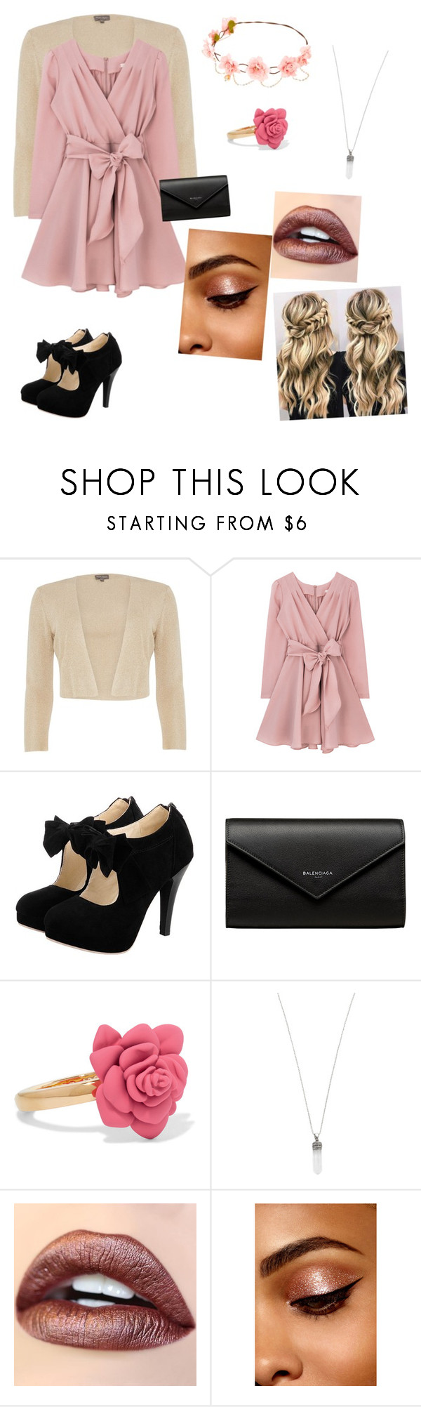 """""""Untitled #155"""" by bellalestrange49 ❤ liked on Polyvore featuring Phase Eight, Balenciaga, Marc by Marc Jacobs and Marc Jacobs"""
