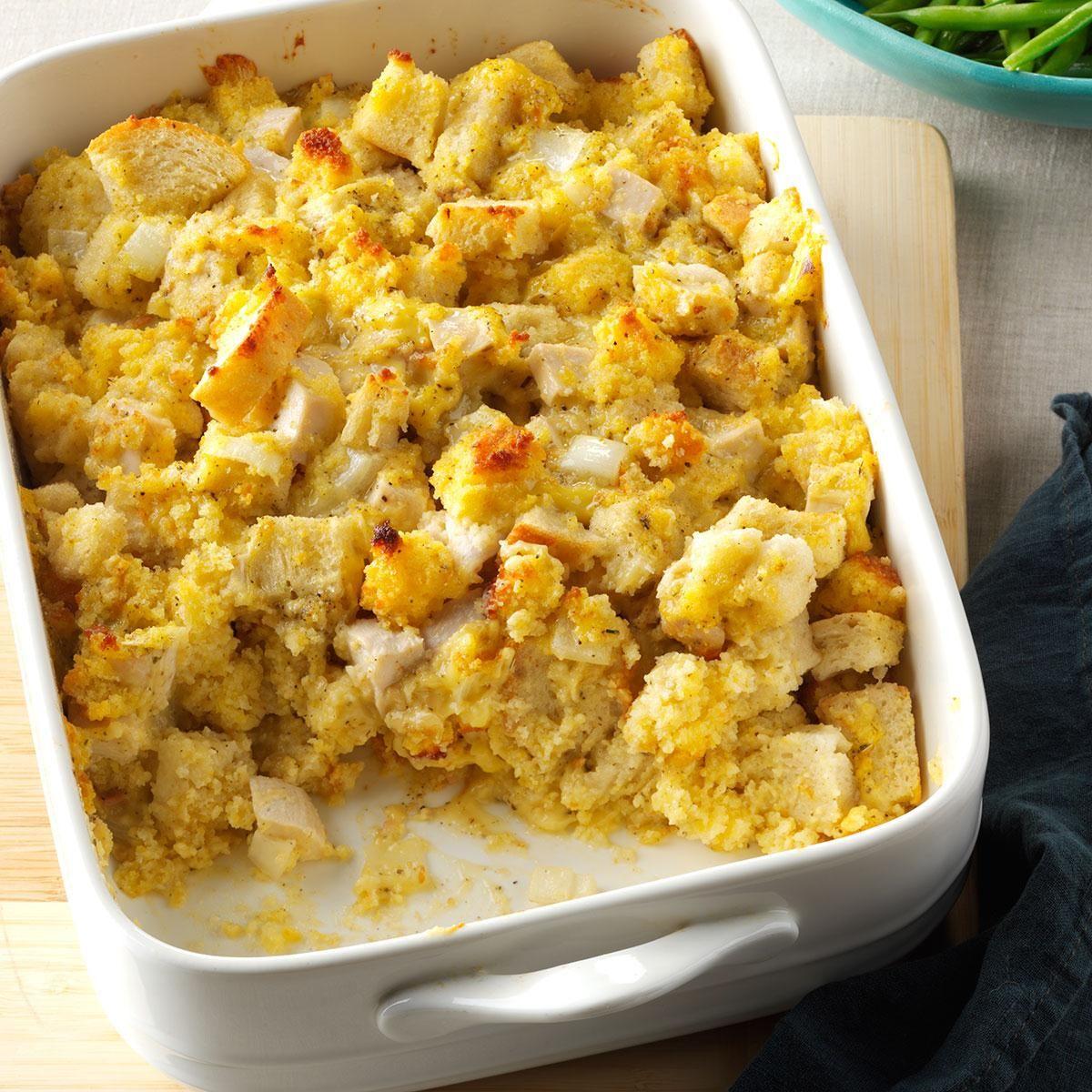 Cornbread Chicken Bake Recipe In 2020 Food Recipes