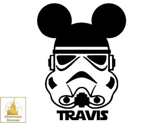 Disney Star Wars Stormtrooper Mickey Mouse Disney by ...