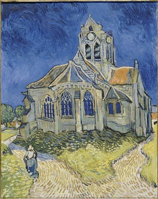 Vincent Van Gogh L Eglise D Auvers Sur Oise Musee D Orsay