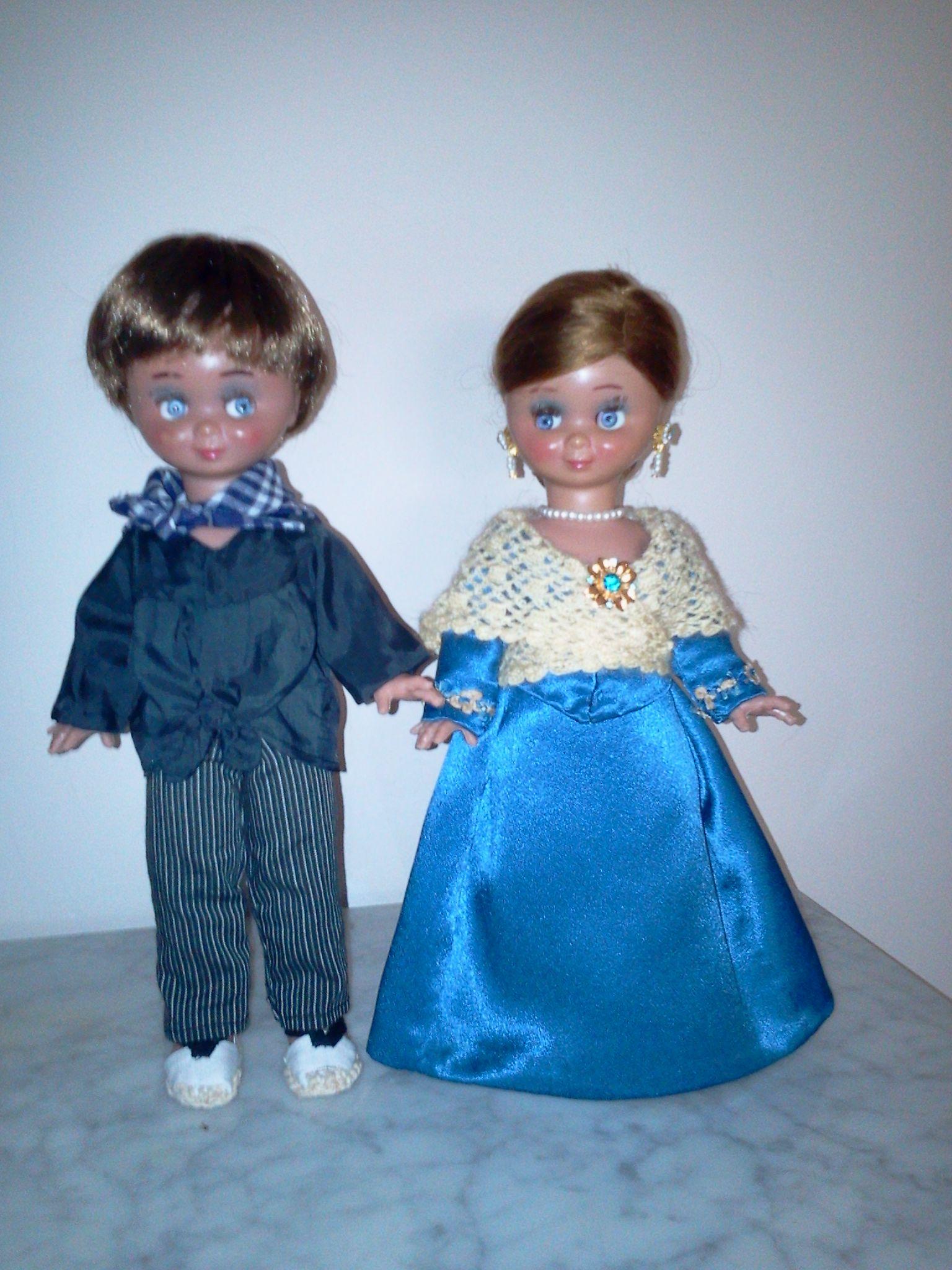 La pareja de Buñoleros, de la casa Alba, restaurados.