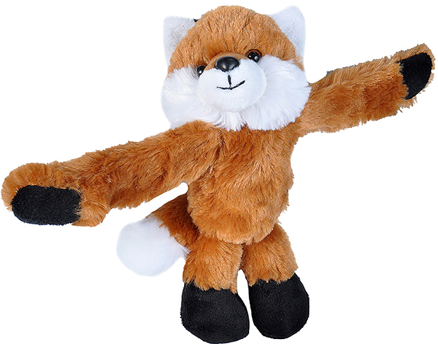 Red Fox Huggers Stuffed Animal by Wild Republic (With