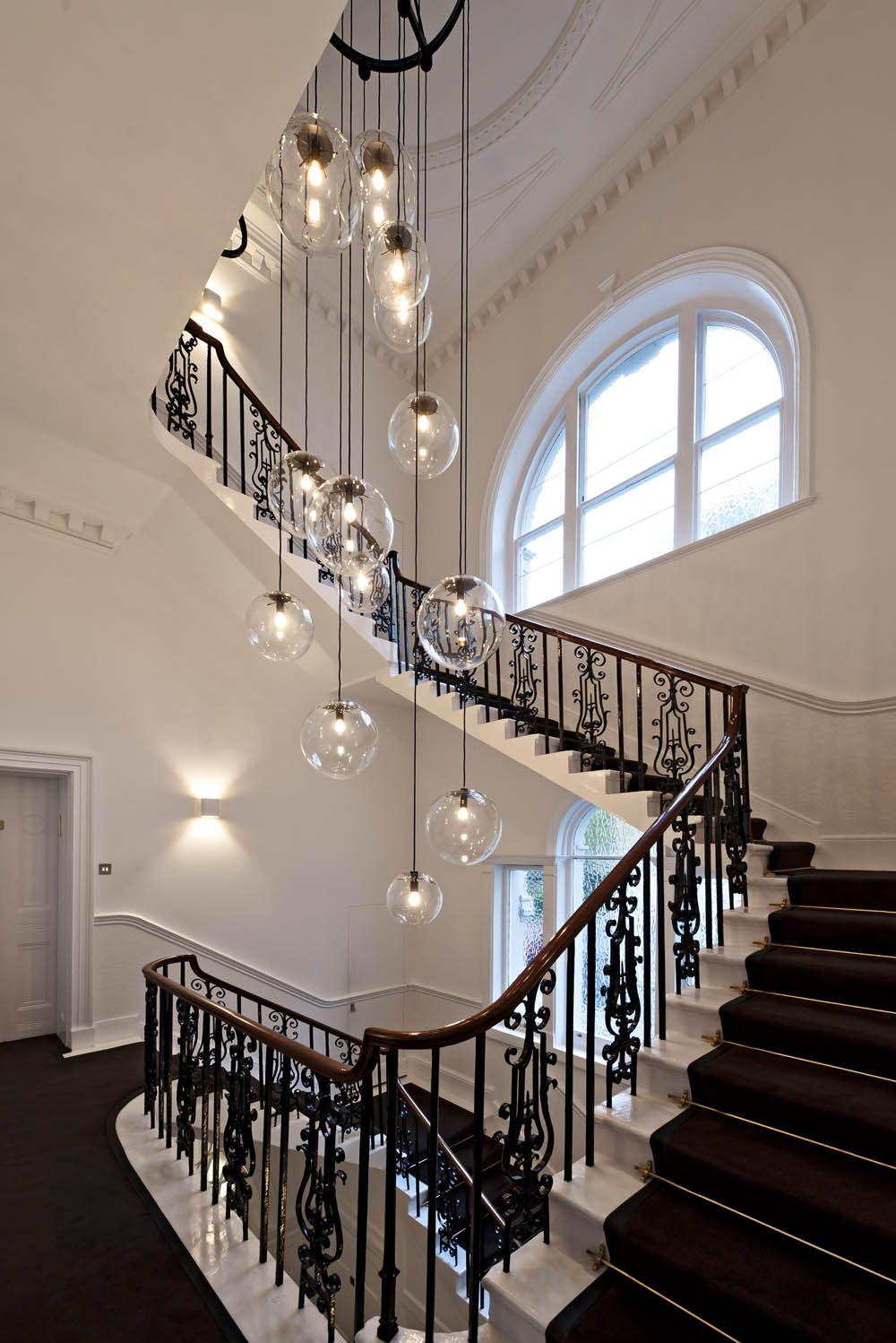stairwell lighting. Stairwell Lighting-Offices For International Shipping Company / SHH Lighting Pinterest