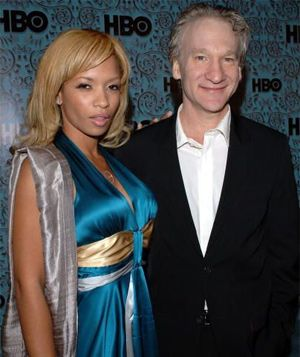 Bill Maher, and his ex-girlfriend -_- (?/hehe) | [ people