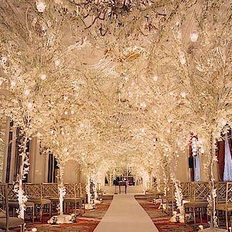 Indoor Winter Wedding Decor Ideas | Winter Wedding Decorations Photos