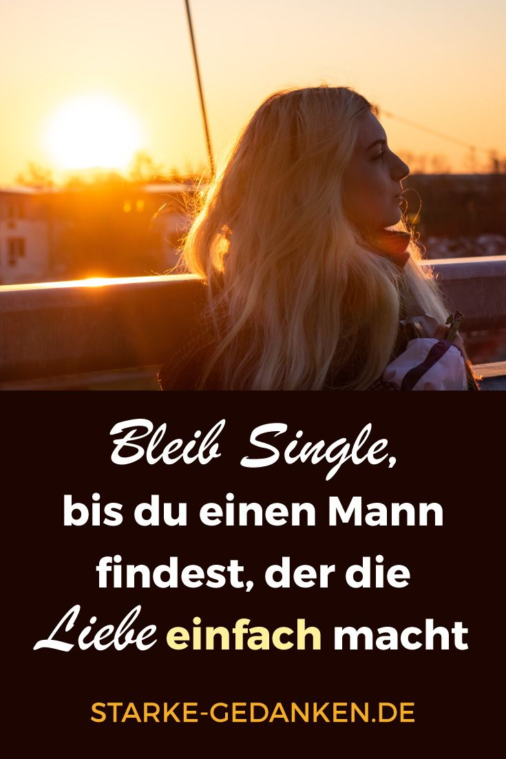 Single mann finden