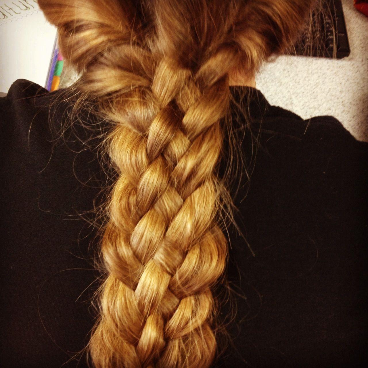 Five-Strand braid! #loveit
