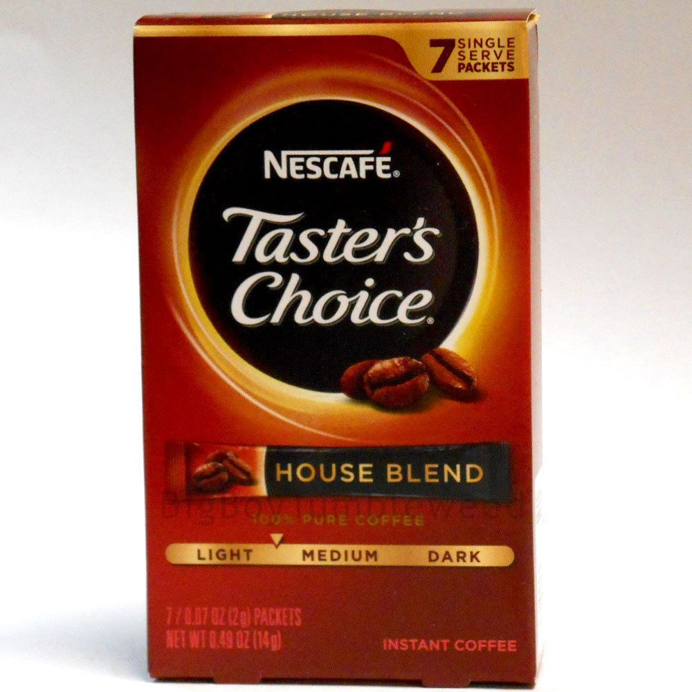 Taster's Choice House Blend light/medium roast INSTANT