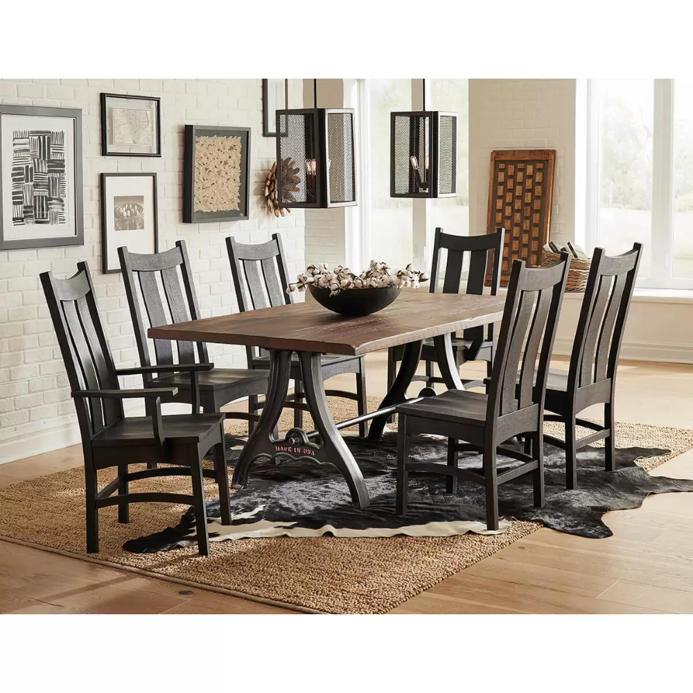 Dining Room Furniture Collections Amish Country Heirlooms Arthur Il In 2020 Dining Room Furniture Collections Furniture Amish Furniture