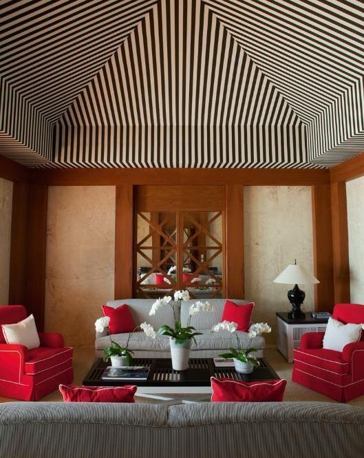 Luis Bustamente interiores Stripes Pinterest Ceiling, Ceiling - interieur design studio luis bustamente