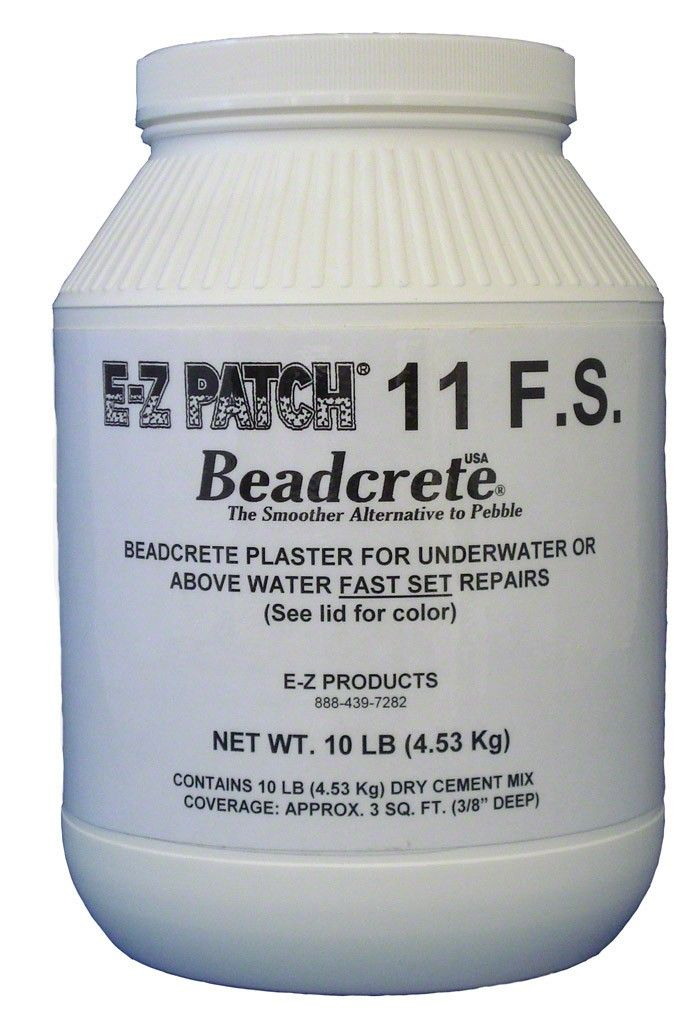 Glass Bead Plaster Pool Repair Fast Set 10 Pounds
