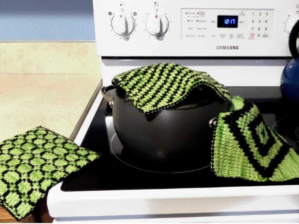 Get Twice The Warmth With Double Knitting Patterns Potholders