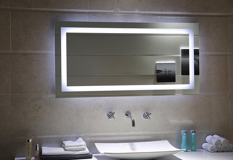 Led Lichtspiegel Milano Badezimmer Badspiegel Inneneinrichtung
