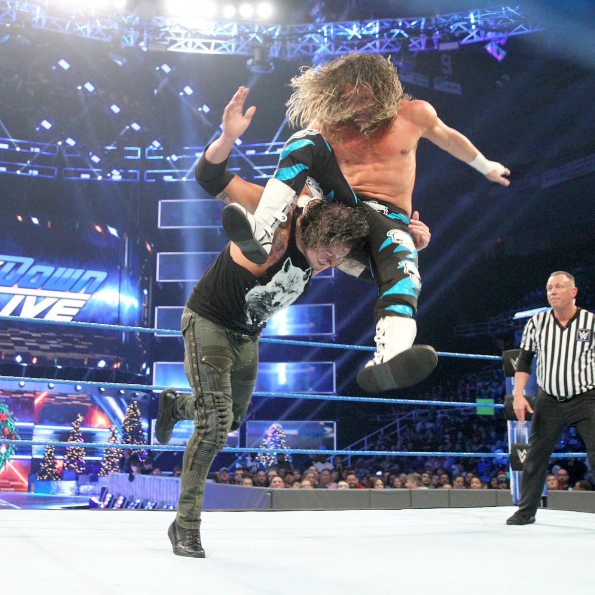 Fotos: Styles bändigt das Match mit einer Stuhl-Attacke | Nemeth :3 ...