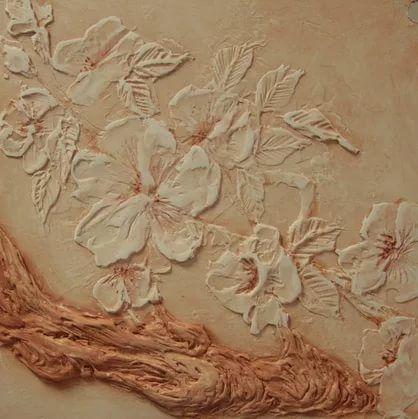 Декоративная штукатурка цветы 83