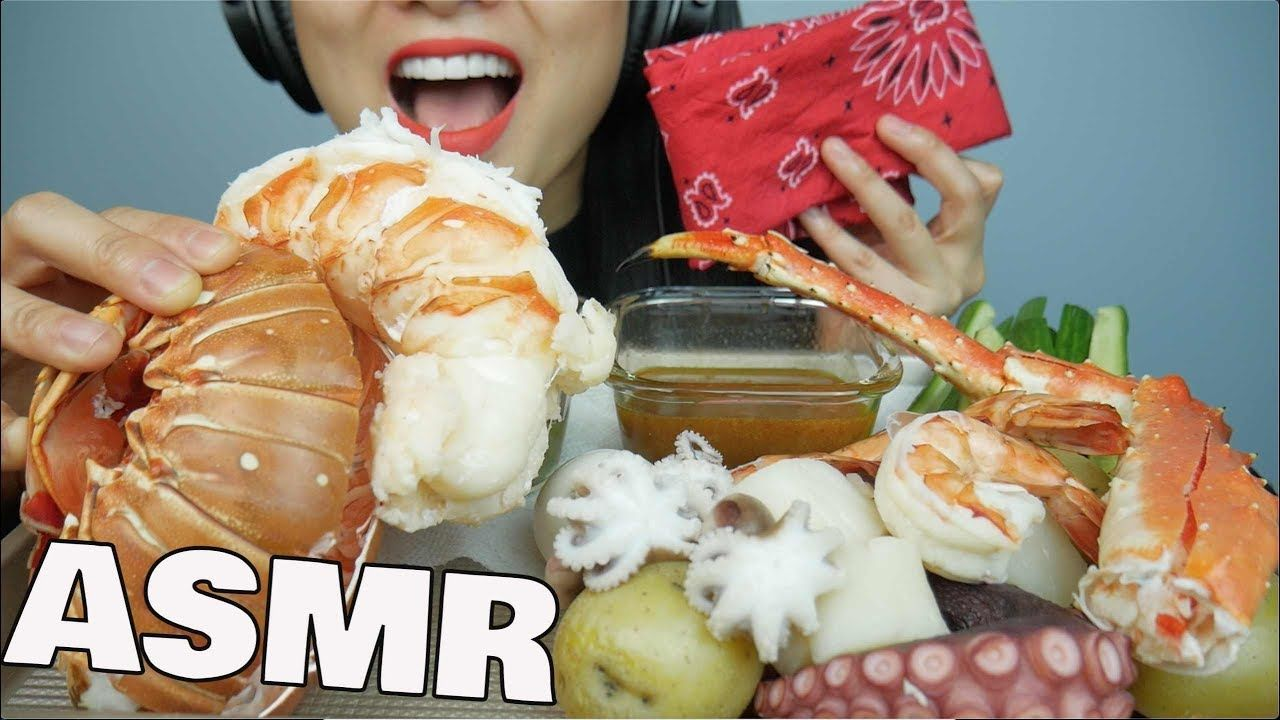 Asmr Seafood Boil Giant Lobster King Crab Octopus Shrimp Eating Seafood Boil King Crab Seafood Blove tries seafood sauce from sas asmr's recipe. asmr seafood boil giant lobster king