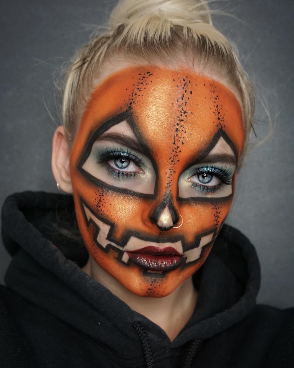 IG themegscahill Creative halloween makeup, Halloween