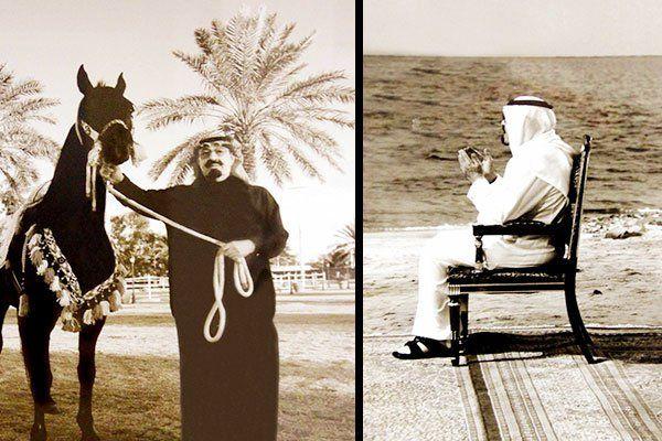 بالصور حياة الملك عبد الله من الصبا Allah King