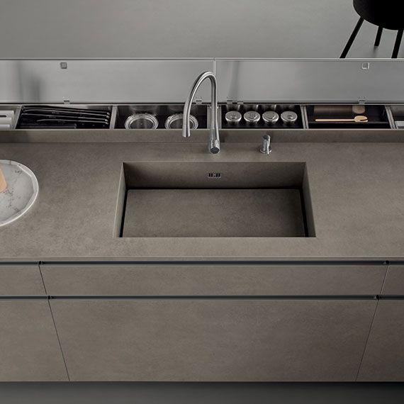 Italian Modern Design Kitchens - Icon by Ernestomeda   Kuchnie ...