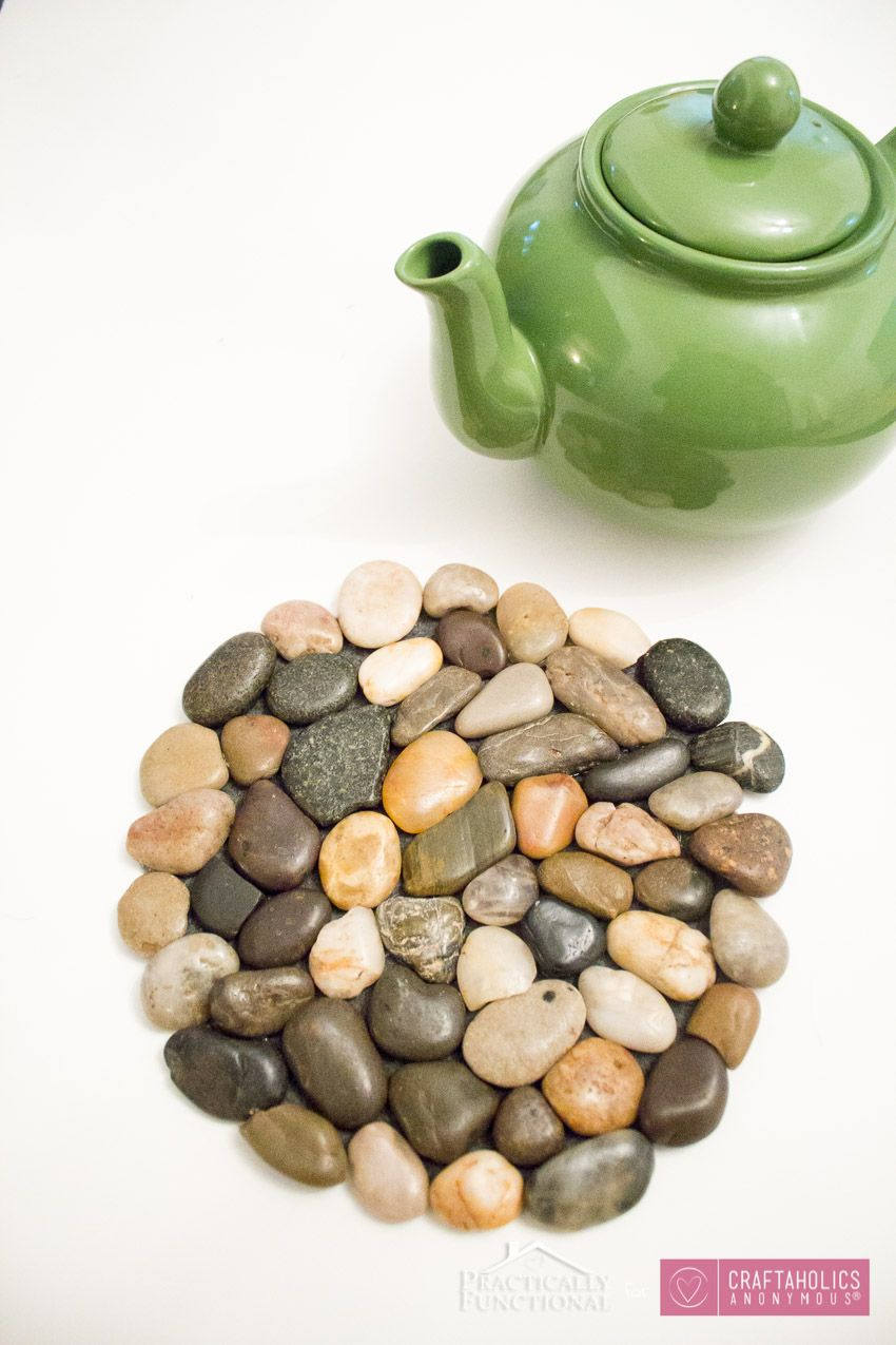 Craftaholics Anonymous® | DIY River Rock Trivets