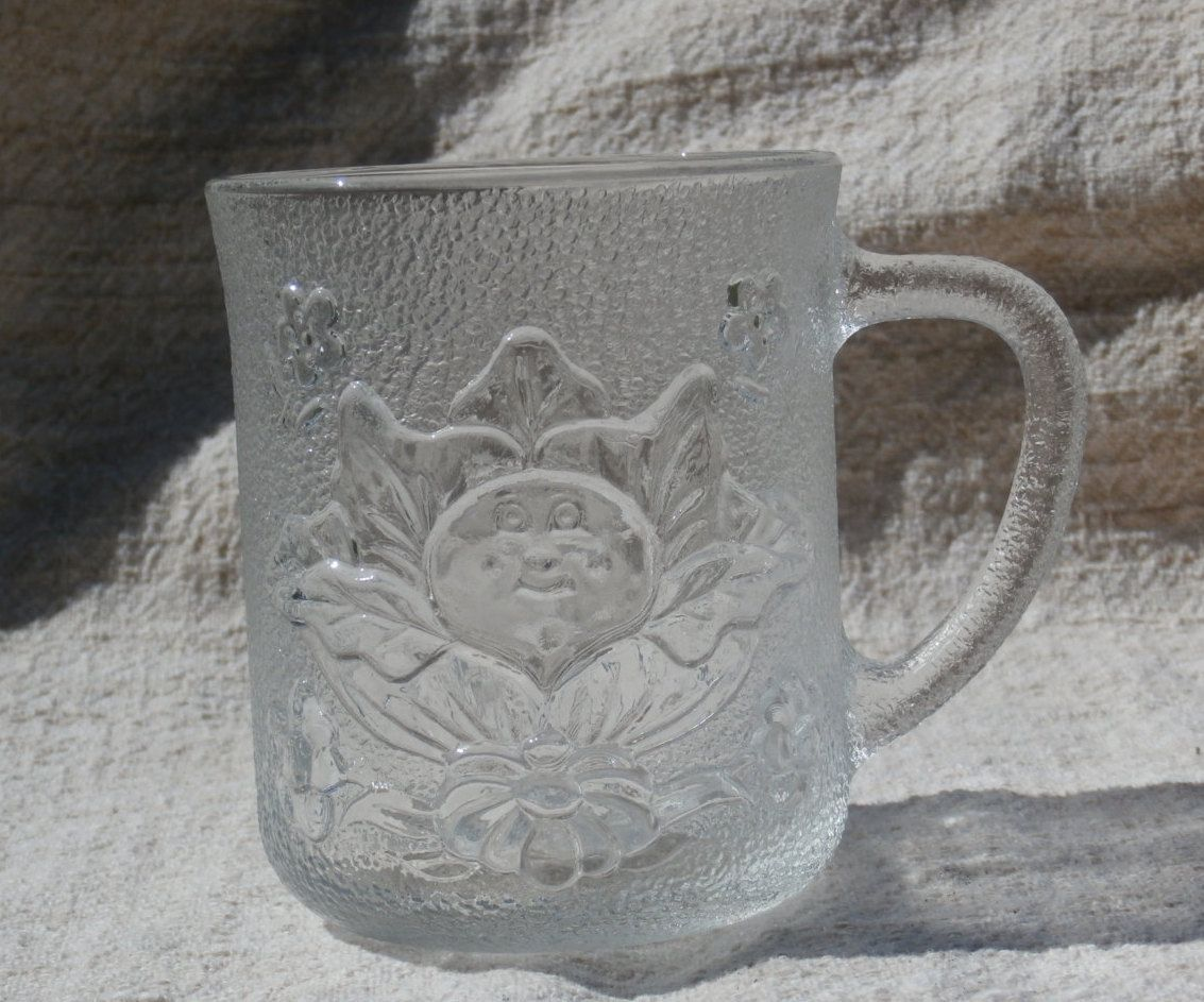 Vintage Cabbage Patch Kids Mug 1984 O A A Glass Mug Etsy Cabbage Patch Kids Patch Kids Mugs