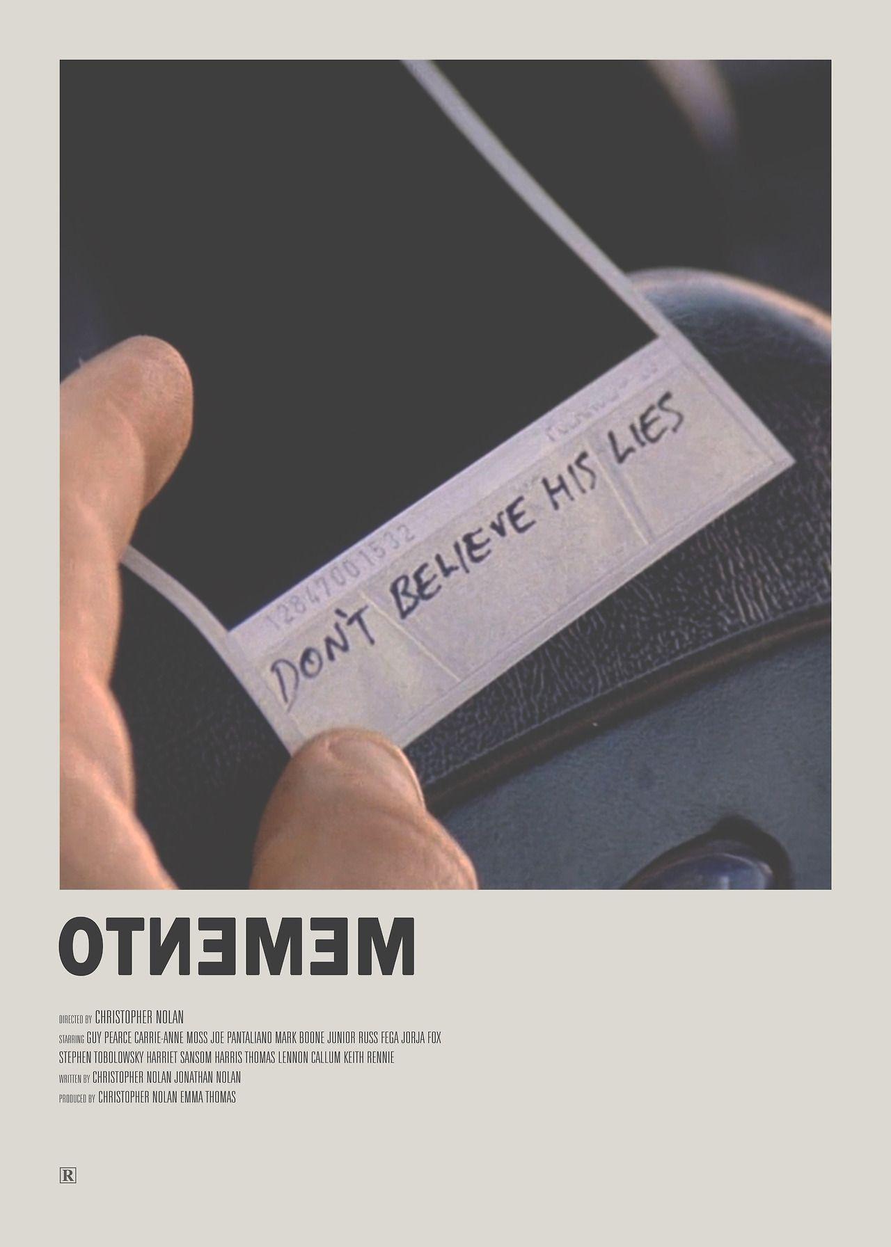 Minimal Movie Posters: Photo