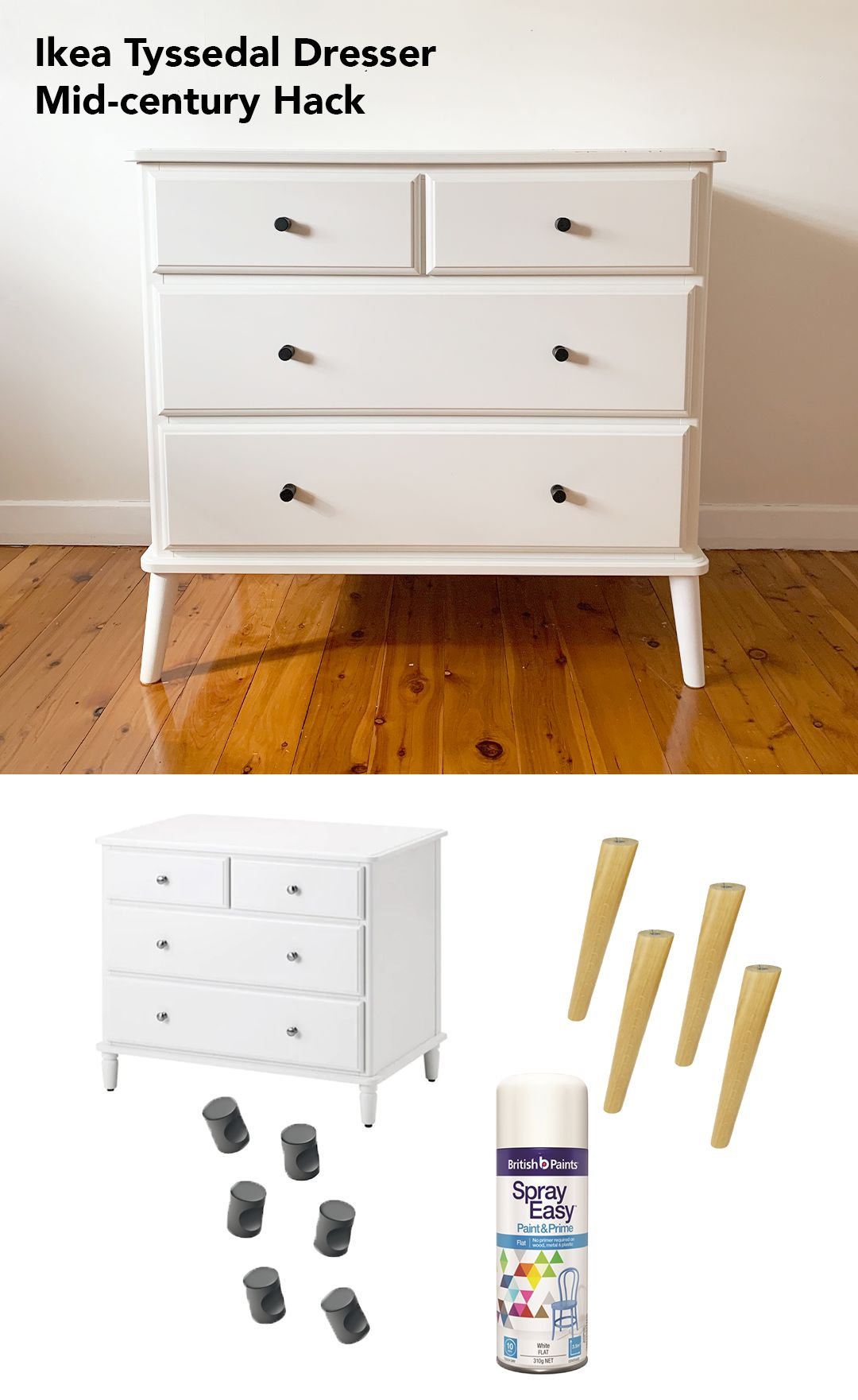 French Provincial Wasn T My Style But I Found The Ikea Tyssedal
