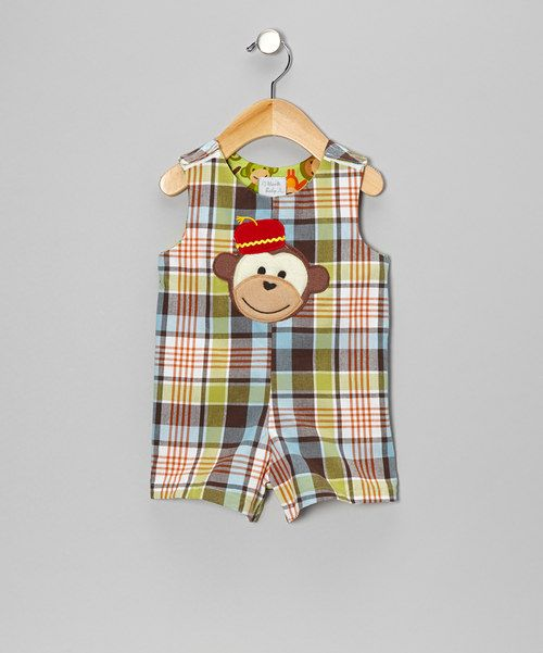 <p+style='margin-bottom:0px;'>Bursting+with+color+and+monkey-time+charm,+this+excitable+romper+will+have+sweeties+swinging+around+in+joy.+The+cozy+fit+and+hook+and+loop+closures+make+sure+it+slips+on+with+delightful+ease.<p+style='margin-bottom:0px;'><li+style='margin-bottom:0px;'>100%+cotton<li+style='margin-bottom:0px;'>Machine+wash;+tumble+dry<li+style='margin-bottom:0px;'>Made+in+the+USA<br+/>