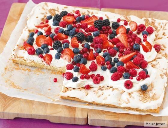 Baiser für Obstkuchen Grundrezept #rührteiggrundrezept