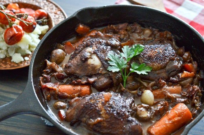 Julia Child S Coq Au Vin Recipe Coq Au Vin Recipes Chicken Dishes Easy