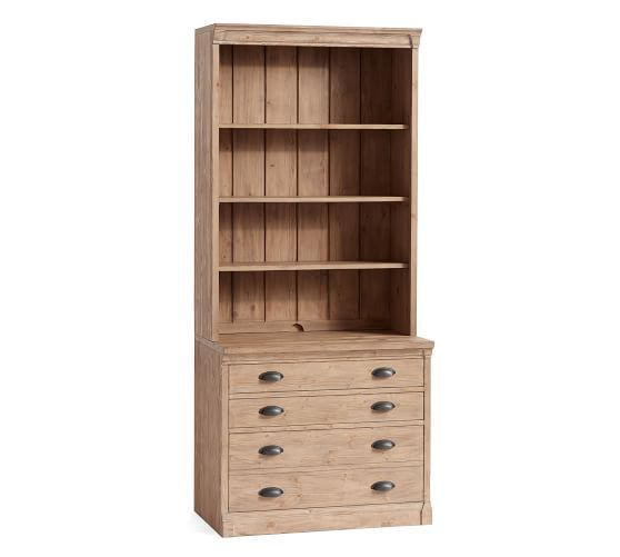 Lucca Lateral File Cabinet Bookcase Potterybarn