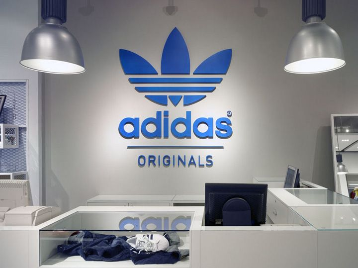 adidas store locations worldwide