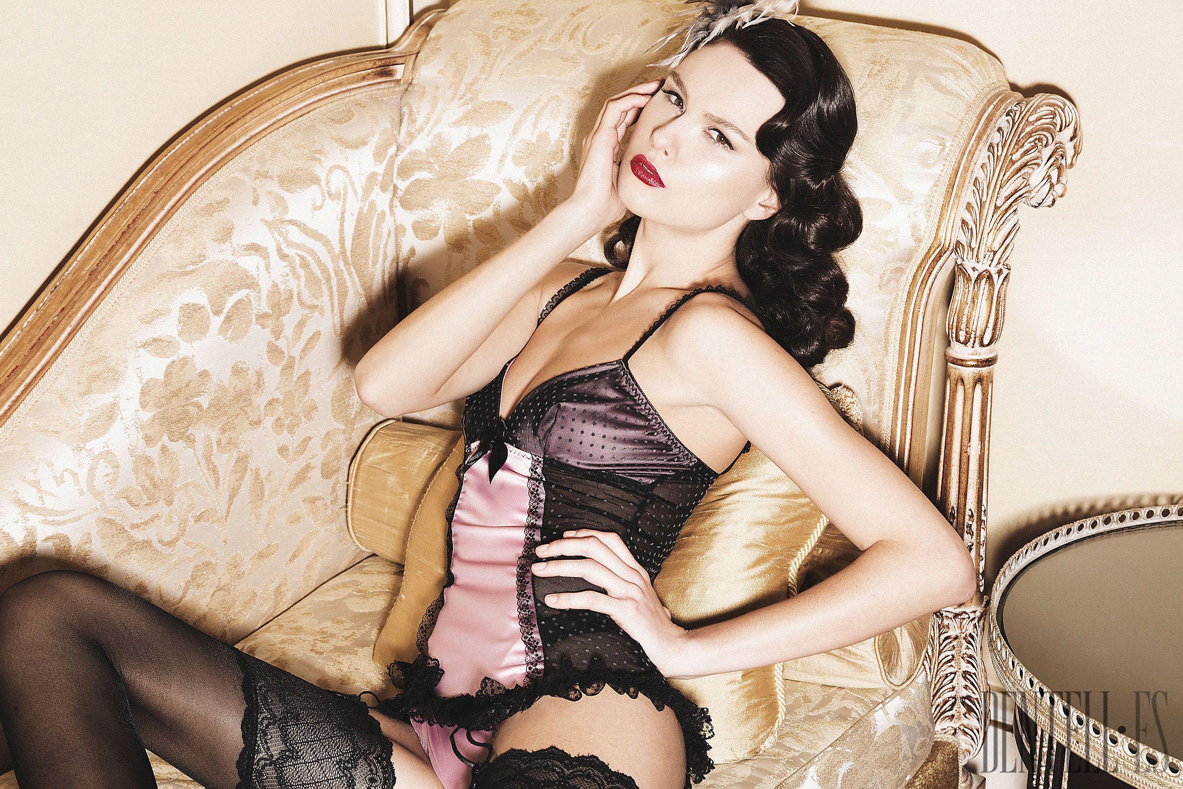 KS Paris Herbst/Winter 2014-2015 - Dessous - http://de.dentell.es/fashion/lingerie-12/l/ks-paris-4103