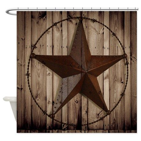 Western Texas Star Shower Curtain By Focusedonyou Texas Star