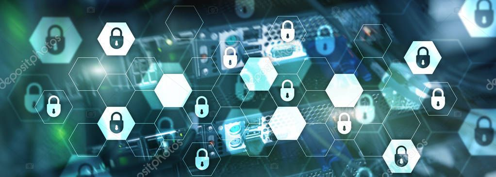 Cyber Security Data Protection Information Privacy Internet Technology Concept Sponsored Data Prote Cyber Security Internet Technology Data Protection
