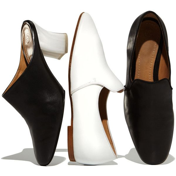 The Row Leather Flats ybjTyw3