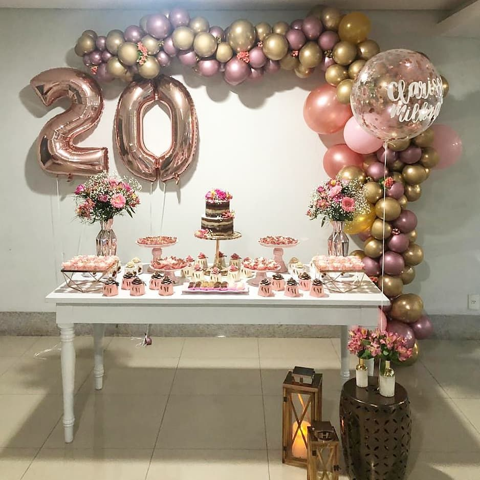 20 Year Old Woman Party Eventofy Magazine Communaute Evenements Celeb 16th Birthday Decorations Surprise Birthday Decorations 18th Birthday Decorations
