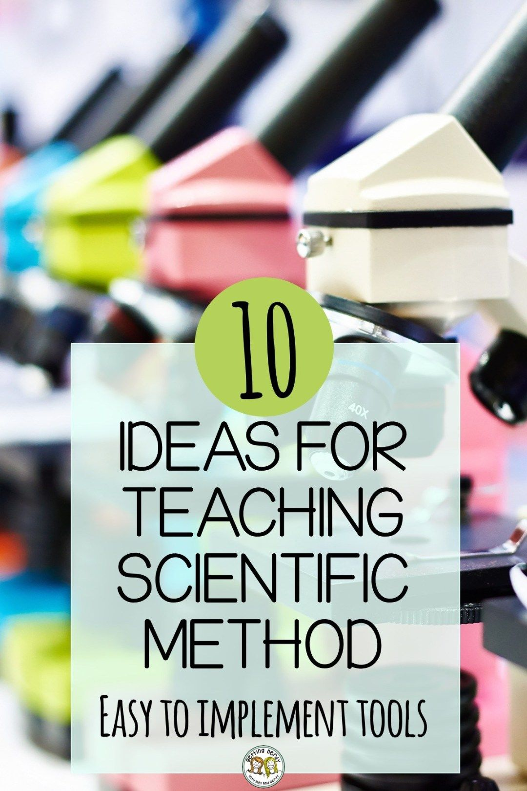 10 Ways to Teach the Scientific Method Scientific method