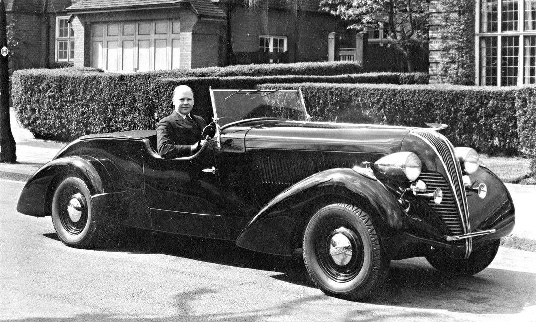 A Sporty 1937 Hudson Eight With Mystery Custom Coachwork