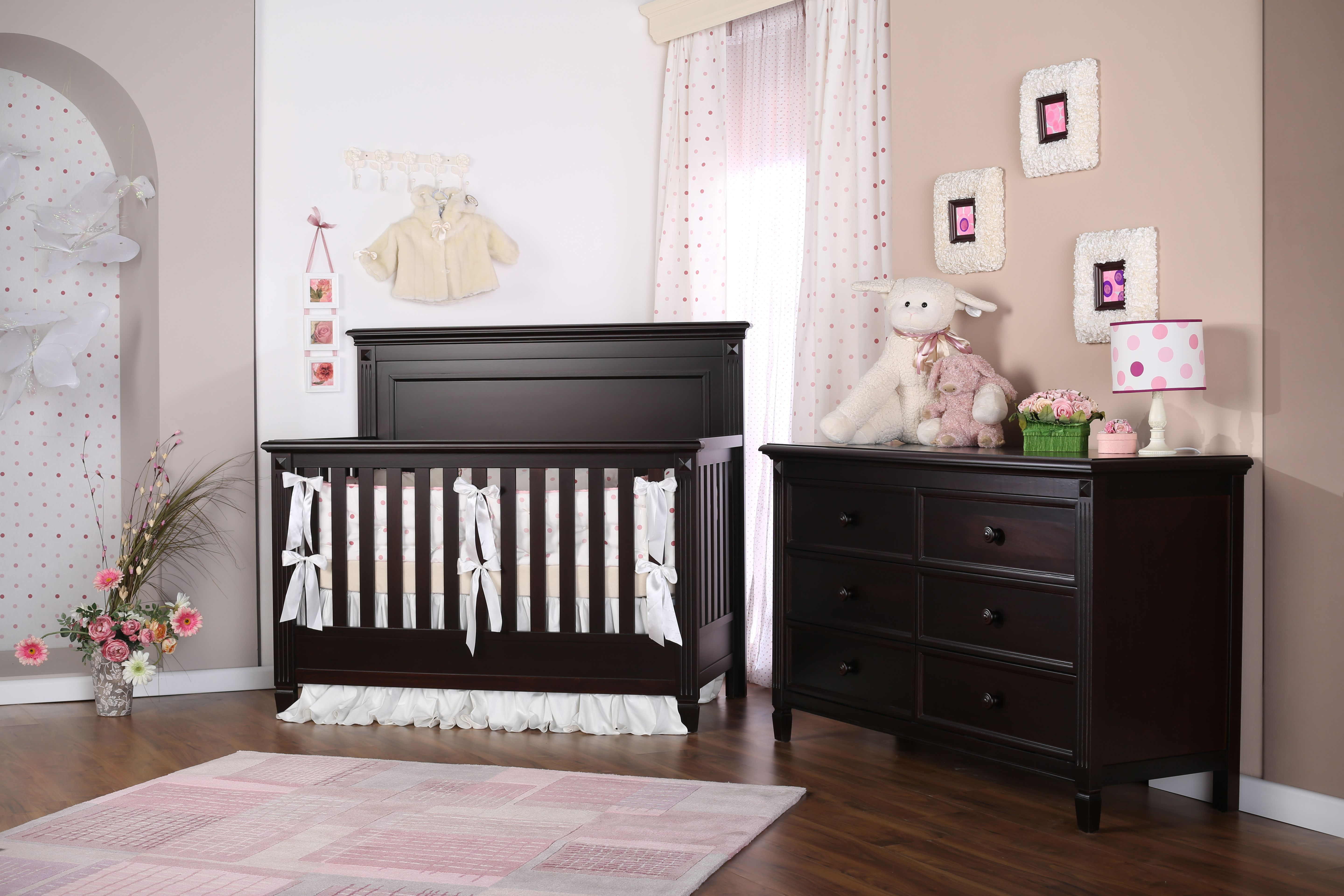 mattress com dark cabinets walmart and in cribs excellent wood convertible side r fixed lauren crib value graco cherry bundle