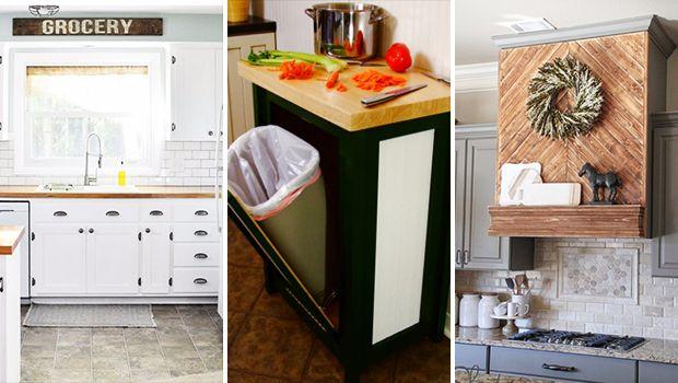 15 Unglaubliche DIYIdeen, die Ihre Küche neu gestalten