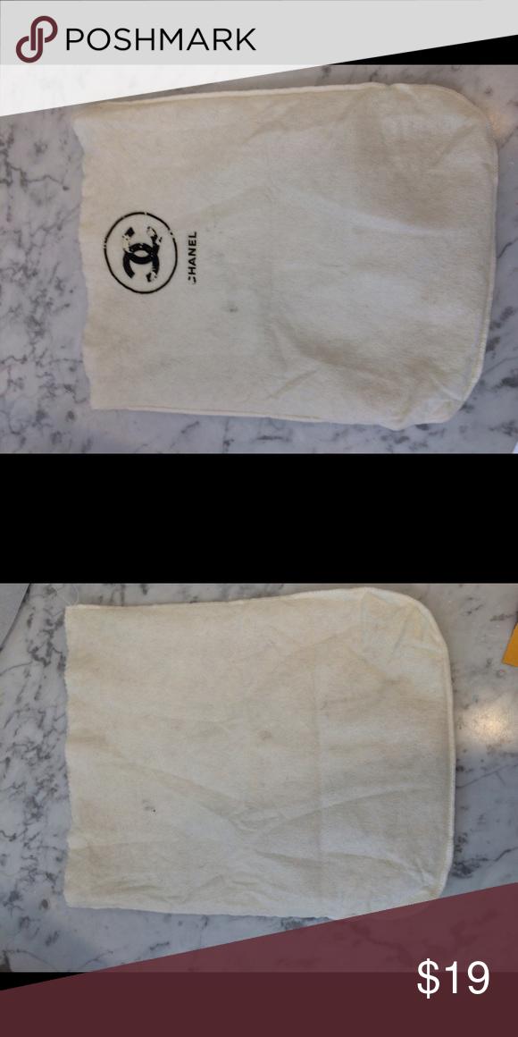 46d8b17557c4 Authentic Chanel vintage dust bag Shows wear on logo CHANEL Accessories