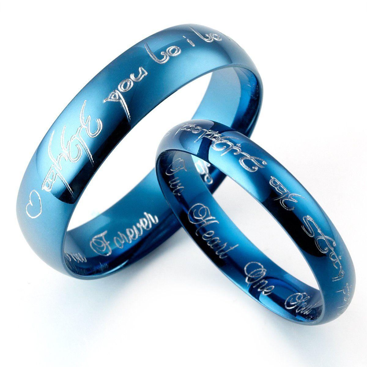 21 Alternative Wedding Rings | Titanium ring, Alternative wedding ...
