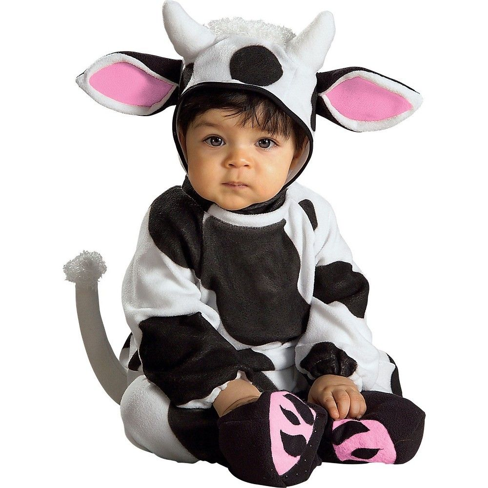 halloween infants cozy cow halloween costume 6-12m - rubie's, infant