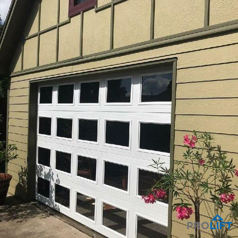 Glass Garage Door As Interior Wall In 2020 Glass Garage Door Garage Doors Garage Door Windows
