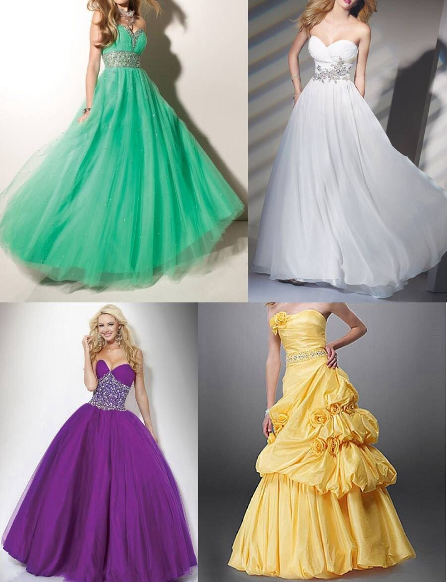 Which one not the yellow though xd prom dress ideas pinterest