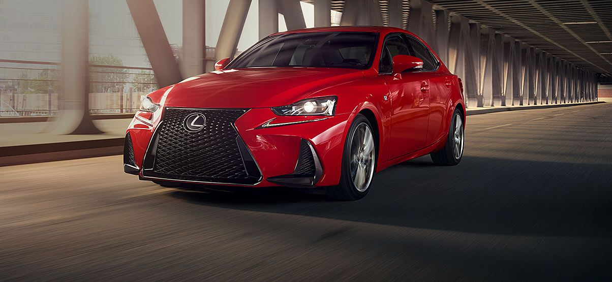 2018 Lexus IS 350 F Sport Luxury sedan, Lexus, Sports car