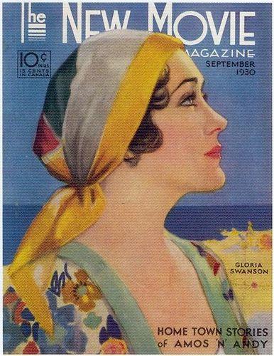 Penrhyn Stanlaws, The New Movie Magazine, September 1930, Gloria Swanson