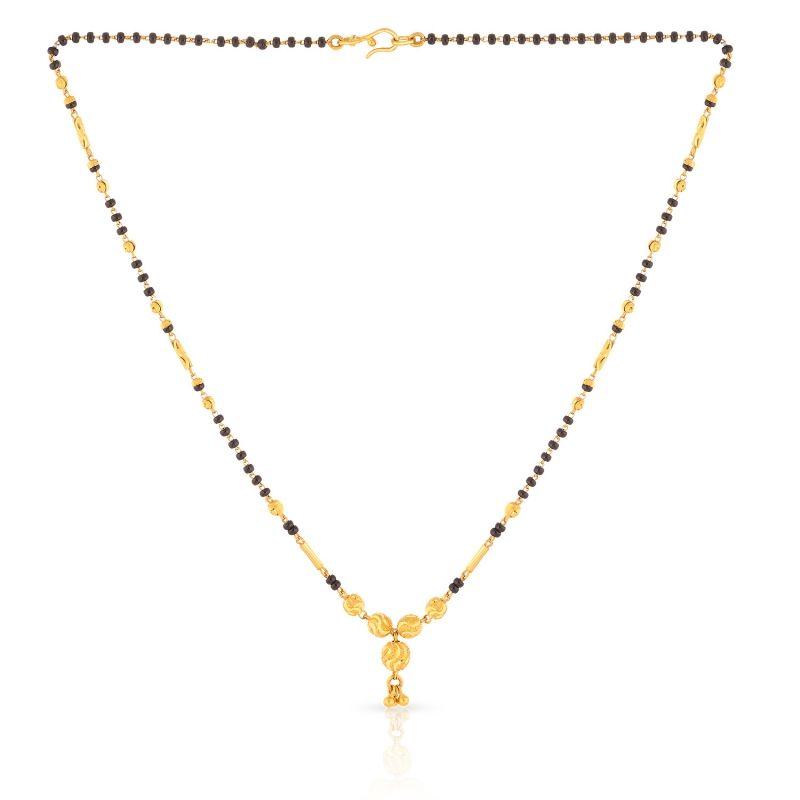Simple Gold Mangalsutra Design Buy malabar gold ...