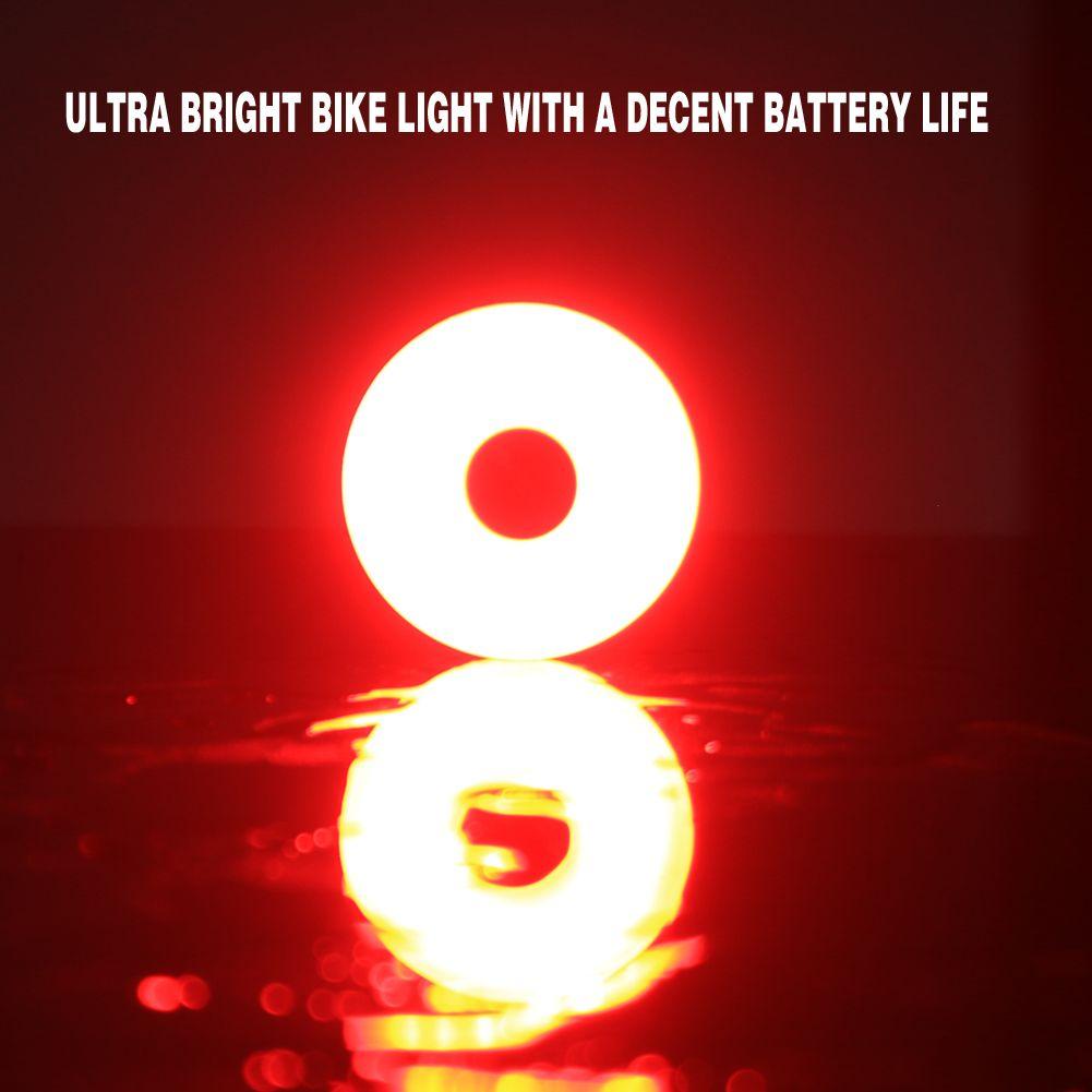 Spolite Led Bike Light 56 Hours Long Run Time High Intensity